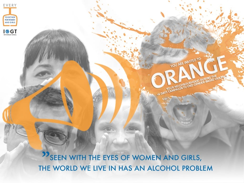 Orange the world