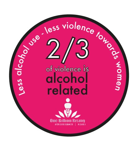 Together we stop excusing alcohol violence