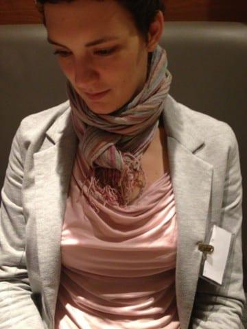 Kristina representing #HeartDriven