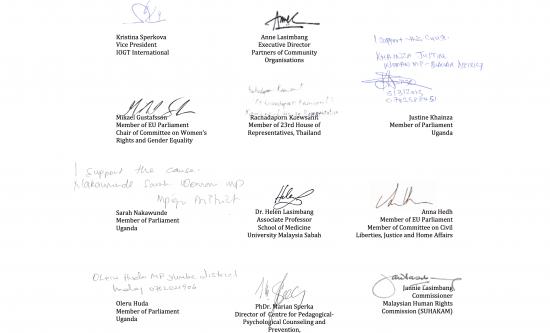 Endorsements from Uganda, European Union, Malaysia, Slovakia, Thailand #HeartDriven