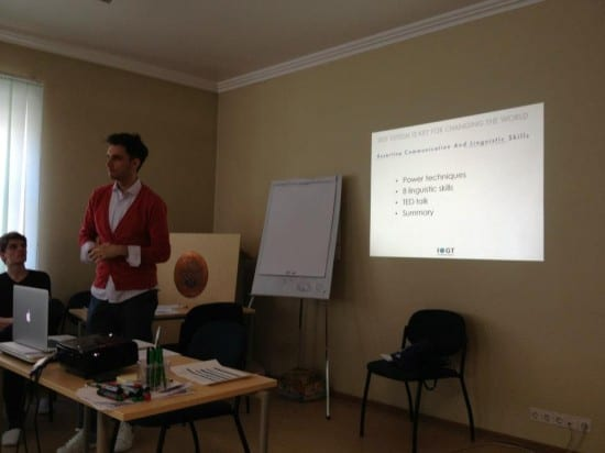 Training European youth on how to use assertive communication for boosting #SelfEsteem