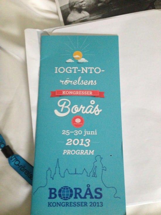 Congress 2013 of the IOGT-NTO Movement #Nykter13