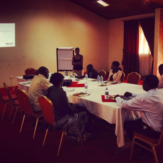 Advocacy Strategy Planning Workshop with UAPA