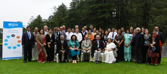 WHO and Government of India Advisory Group Meeting on NCDs at Shimla in June 2013