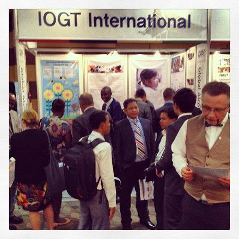 Moment of our IOGT Mingle at #GAPC in Seoul #LifeSetFreeTogether