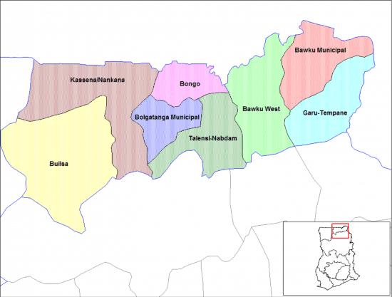 Upper East region of Ghana