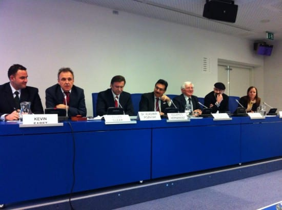 Panel with colleagues Kevin Sabet (to the left), Linda Nilsson (to the right) and Dr. Vladimir Poznyak  #CND2014