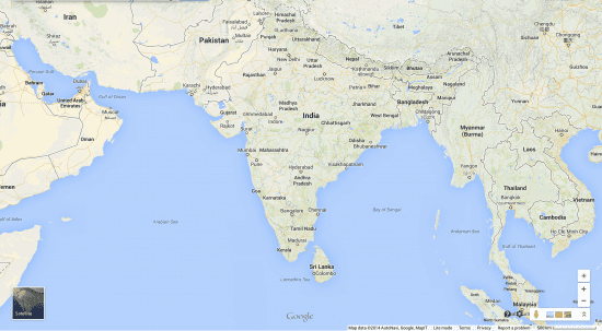 Vastness of India