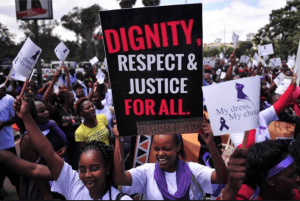 #MyDressMyChoice protests in Nairobi, Kenya