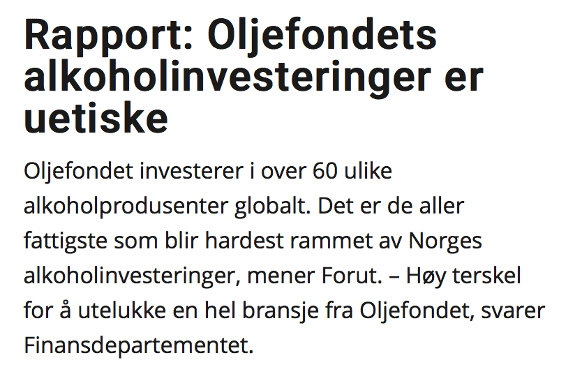IP Norwegian newspaper