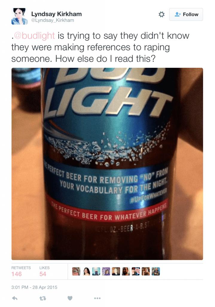 Big Alcohol rape culture marketing